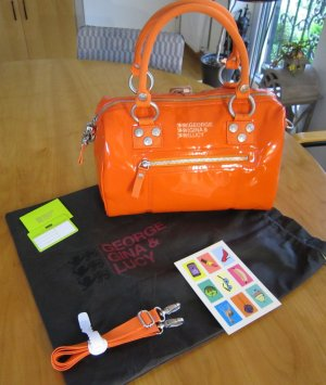 George Gina & Lucy Handtasche Mumble Jumble Tictac Orange #225