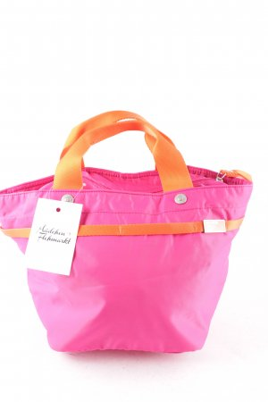 George Gina & Lucy Sac Baril rose-orange blocage de couleur style mode des rues