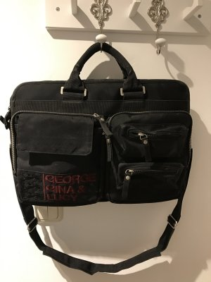 George Gina & Lucy Laptoptasche *black*