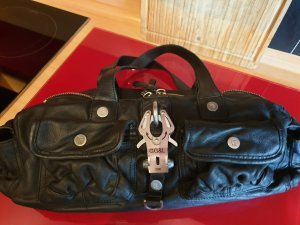 George Gina& Lucy, Lederhandtasche, schwarz