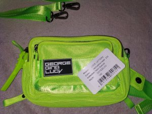 George Gina & Lucy Banane vert fluo