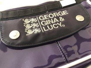 George Gina & Lucy Bolso violeta oscuro-violeta amarronado