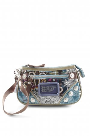 George Gina & Lucy Mini Bag abstract pattern Logo appliqué