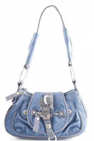 George Gina & Lucy Minibolso gris-azul acero look casual