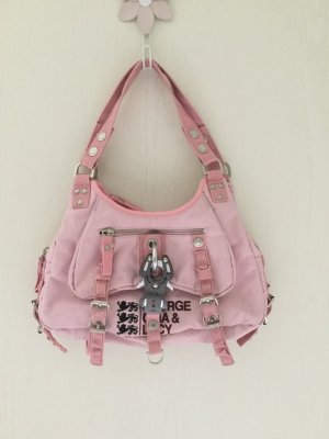George, Gina & Lucy Mos Cowgirl Handtasche rosa
