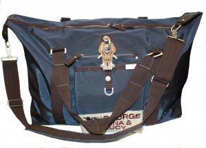 GEORGE GINA & LUCY Reisetasche Model Long Range blau