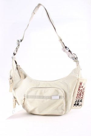 George Gina & Lucy Schultertasche beige-creme Casual-Look