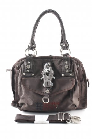 George Gina & Lucy Shoulder Bag dark green-taupe casual look