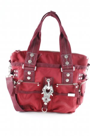 George Gina & Lucy Schultertasche karminrot Casual-Look