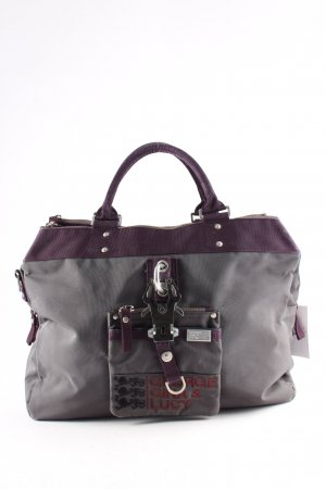 George Gina & Lucy Shopper grau-purpur Casual-Look