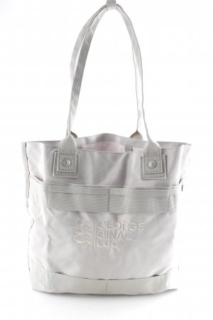 George Gina & Lucy Shopper light grey college style