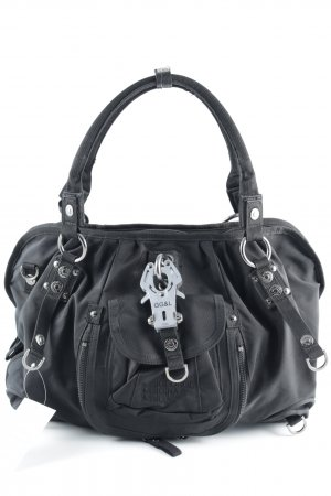 George Gina & Lucy Shopper black placed print casual look
