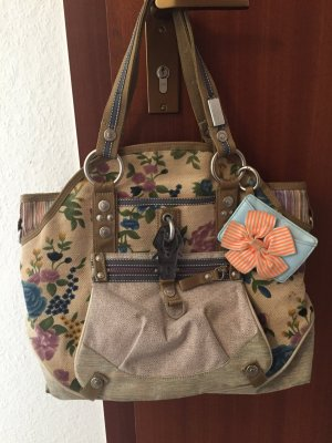 George Gina & Lucy Carry Bag multicolored linen