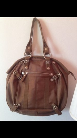 George Gina & Lucy Carry Bag brown-silver-colored