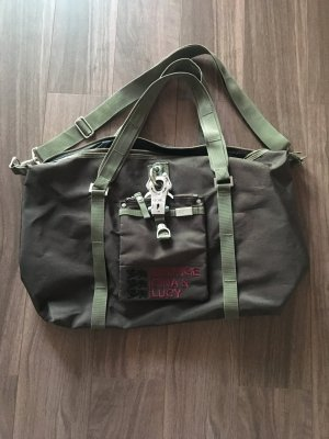George Gina & Lucy Bagage donkerbruin-khaki