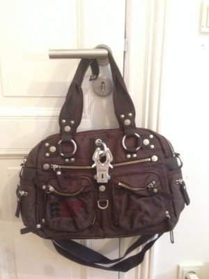 George Gina & Lucy Carry Bag dark brown