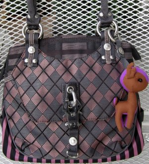 George Gina & Lucy Carry Bag pink-brown