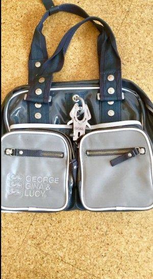 George Gina & Lucy Tasche - glänzend grau