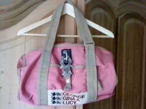 George Gina & Lucy Tasche * kleiner Sporttasche * rosa * sehr süß