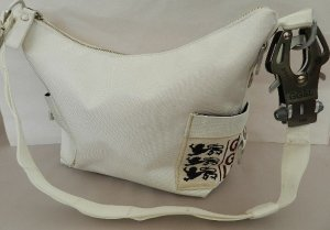George Gina & Lucy Shoulder Bag white-silver-colored synthetic material