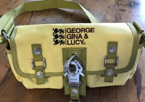 George Gina & Lucy Sac jaune fluo-gris vert synthétique