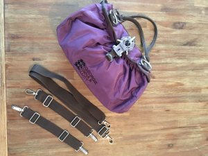 George Gina & Lucy Carry Bag lilac-brown nylon