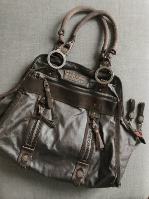 George Gina & Lucy Carry Bag dark brown-brown leather