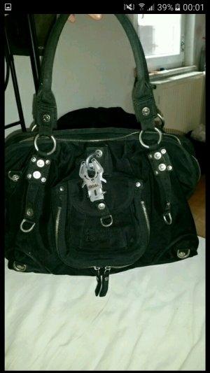 George Gina lucy Tasche sexy strappy schwarz