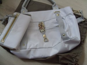 George Gina & Lucy Carry Bag white nylon