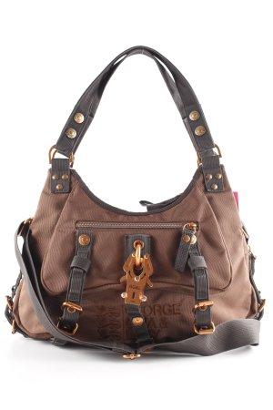George Gina & Lucy Bandolera marrón-marrón claro estilo extravagante