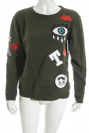 George J. Love Sweatshirt khaki Urban-Look