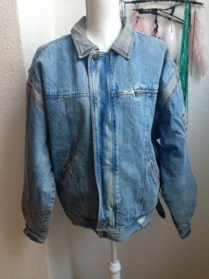 GEORGES MARCIANO 80s Denim Jacket Vintage Jeans GUESS Oversized Stone Wash