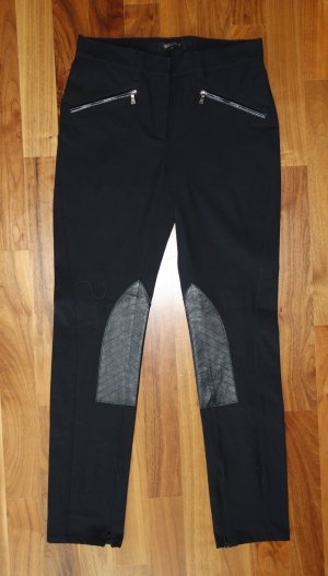 Georges Rech Pantalón de equitación negro Algodón