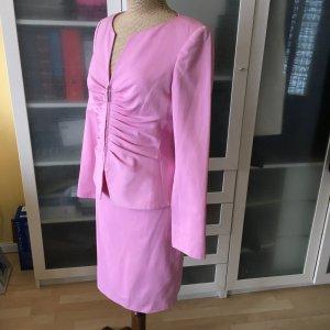 Georges Rech Kostüm rosa Gr. 38 top Zustand