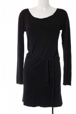 Georges Rech Strickkleid schwarz Casual-Look