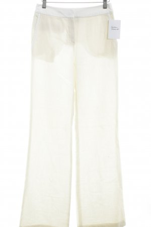 Georges Rech Woolen Trousers cream simple style