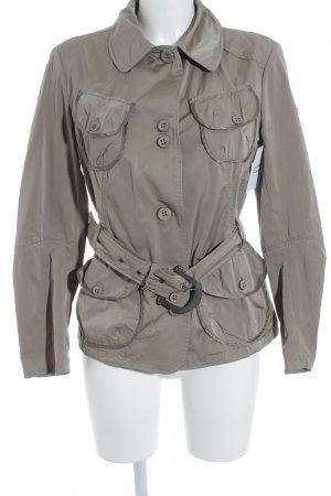 Geospirit Windbreaker grey brown elegant