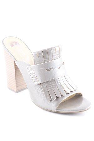 Geox Sandalo con tacco argento stile da moda di strada