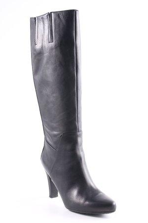 Geox Laarzen met hak zwart elegant