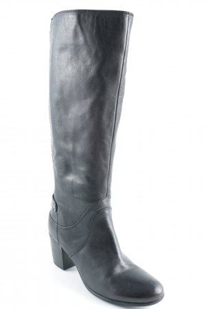 Geox Absatz Stiefel schwarz klassischer Stil