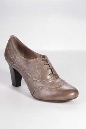 Geox Lace-up Pumps grey brown
