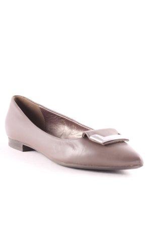 Geox Ballerinas mit Spitze braun-silberfarben Elegant