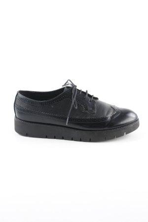 Geox Zapatos Budapest negro estilo «business»
