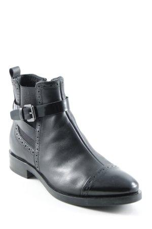 Geox Chelsea Boots schwarz Casual-Look