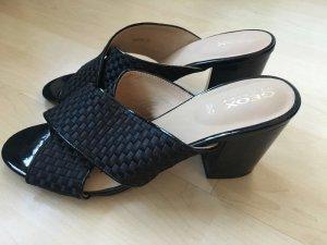 Geox Comfort Sandals black leather