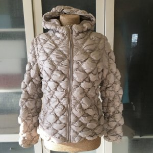 Geox Daunen Jacke creme Gr. 38 top Zustand