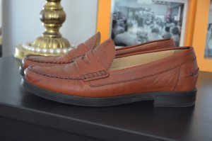 Geox Zapatos de marinero coñac Cuero
