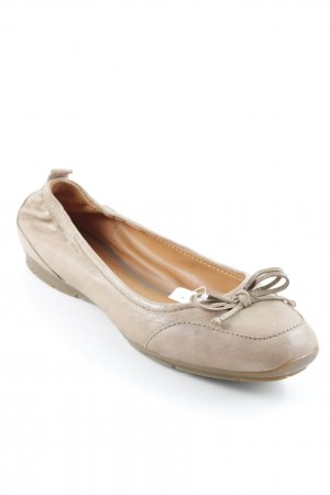 Geox faltbare Ballerinas hellbraun Casual-Look