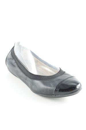 Geox Ballerines pliables noir style classique