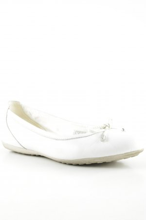 Geox Bailarinas plegables blanco look casual